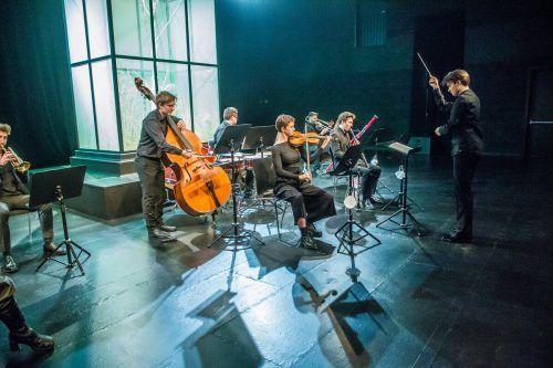 Auftritt der jungen Camerata Musica Reno: In der Modellregion Vorarlberg sind Konzerte seit Ende März möglich, allerdings bei strikten Besucherbeschränkungen. VN/PS