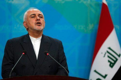 Außenminister Zarif soll die Kontinuität des gemäßten Rohani-Kurses sicherstellen. Doch gegen ihn wurden zuletzt Vorwürfe laut. AFP