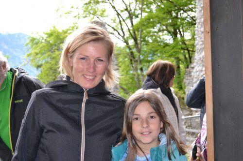 Barbara Eichhorner wurde von Tochter Miriam begleitet.