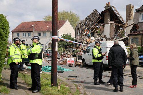 Bei der Explosion wurden zudem vier Menschen verletzt. Reuters