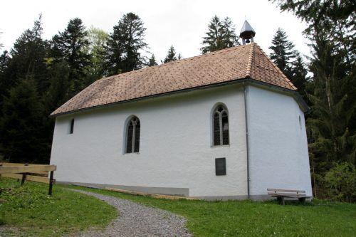 Bei der Ulrichskapelle in Möggers findet morgen, Freitag, ein besonderer Gottesdienst statt.chf/2