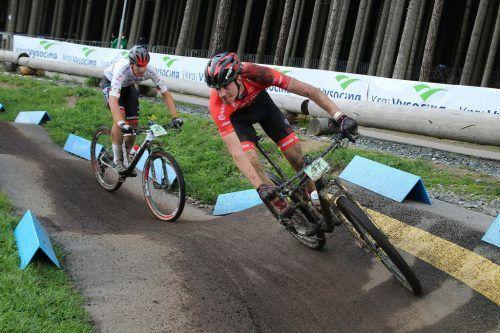 Beim Weltcuprennen in Tschechien belegte Julius Scherrer Platz 46.privat