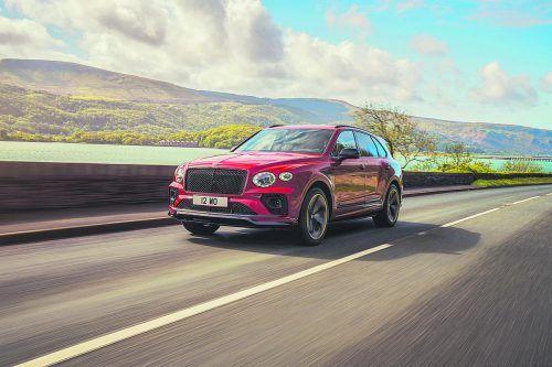 Bentley legt eine weitere Variante des Bentayga auf.werk