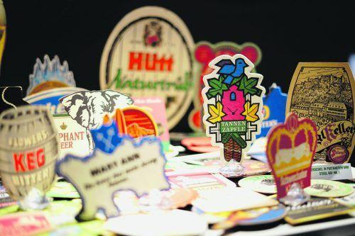 Bierdeckel aus aller Welt stehen im Zentrum der Ausstellung in der Biererlebniswelt der Mohrenbrauerei – VN-Abonnenten besuchen das Museum zum Vorteilspreis.mohrenbrauerei