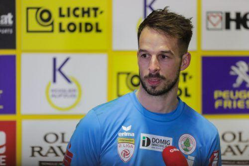 Bleibt dem FC Dornbirn ein weiteres Jahr treu: Torhüter Lucas Bundschuh.gepa