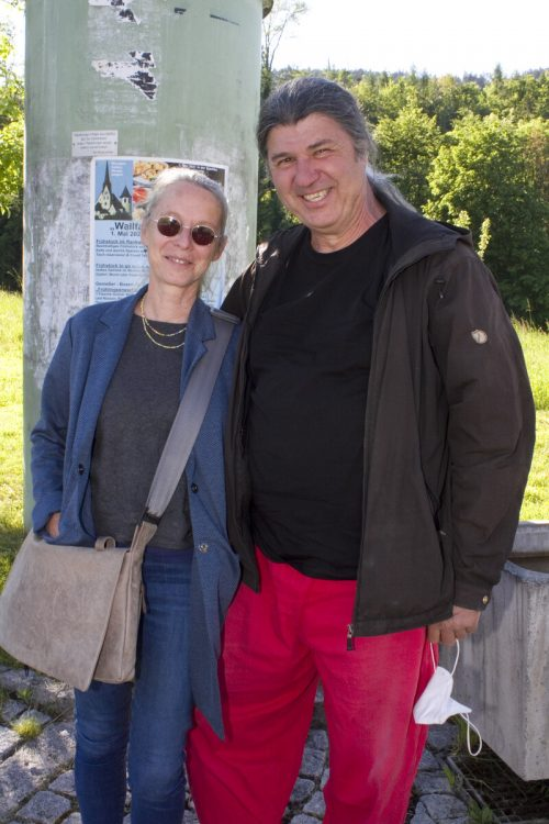 Bria und Christoph Heinzle genossen das Ambiente.