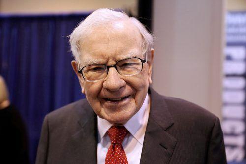 """Buffett: """"Die Wirtschaft läuft genau jetzt zu 85 Prozent im höchsten Gang.""""Reuters"""
