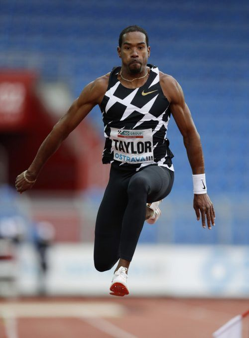 Christian Taylor riss sich beim Golden-Spike-Meeting die Achillessehne. Reuters