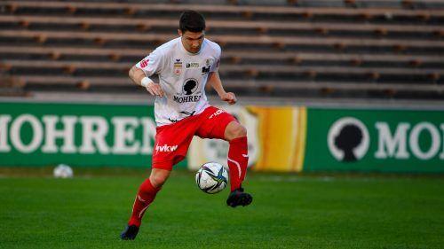 Christoph Domig bleibt ein weiteres Jahr beim FC Dornbirn.gepa
