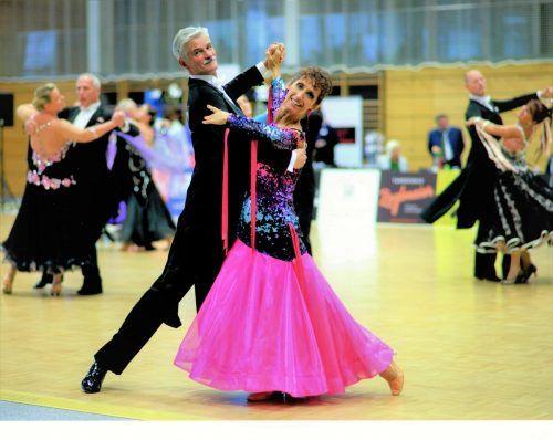 Das Ehepaar pflegt ein gemeinsames Hobby: Tanzen.