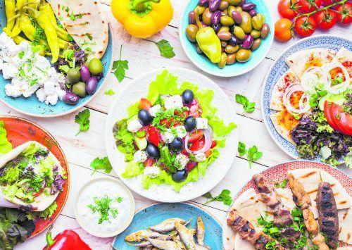 Das Essen in Griechenland ist äußerst vielfältig und bunt.Shutterstock