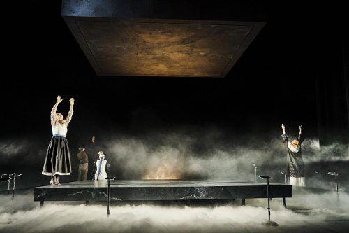 """Das Felder-Stück """"Sprich nur ein Wort"""" steht wieder auf dem Programm des Landestheaters. LT/Köhler"""
