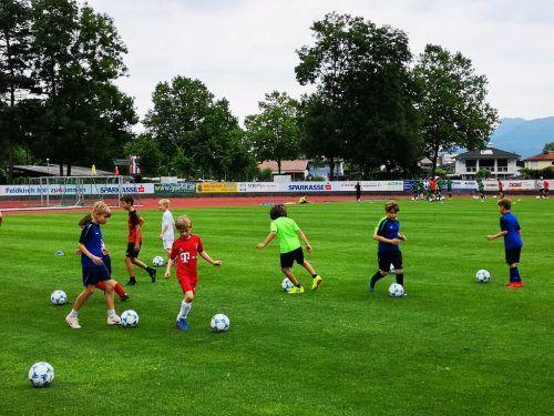 Das Fußballcamp des FC BW Feldkirch ist bei Kindern und Jugendlichen eine beliebte Sommerveranstaltung.Verein