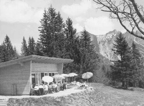 Das Madeisastüble am Muttersberg (1960).