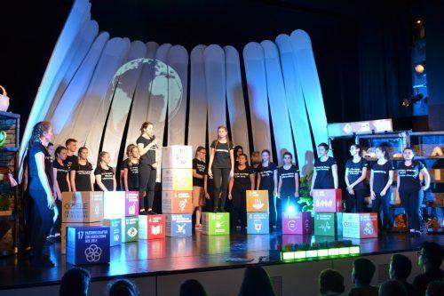 """Das Musical """"Solve it! Die Zeit läuft!"""" wird Ende Juni im Kulturhaus aufgeführt.Caritas"""
