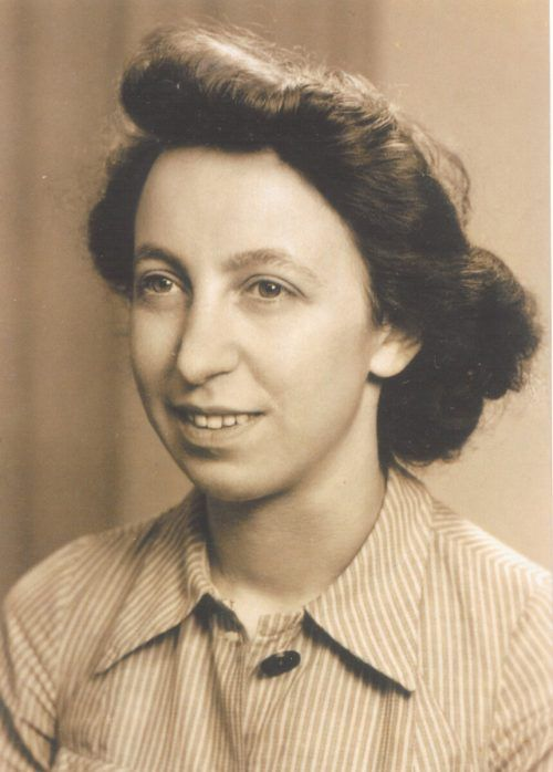 Das nächste Projekt ist Hilde Monte gewidmet, die 1945 erschossen wurde.
