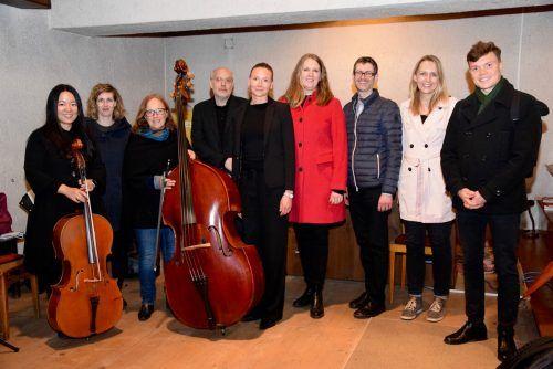 """Das Solistenensemble des """"Verein Musica Sacra Maria Bildstein"""" gestaltete die Messe musikalisch.SCO"""