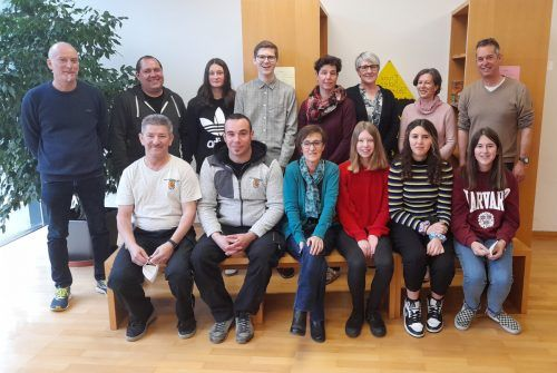 Das Umweltzeichenteam der MS Wolfurt.MS Wolfurt