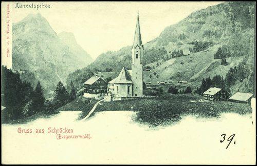 Dass Schröcken im Bregenzerwald liegt, war schon 1905 unbestritten.
