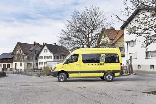 Der Anrufbus, der ab 20 Uhr angefordert werden kann, soll ab Herbst auch im Rheindelta unterwegs sein. Landbus