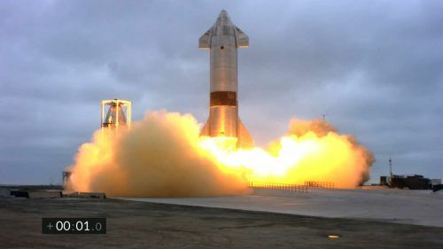 Der fünfte Testflug von Starship verlief erfolgreich.AFP