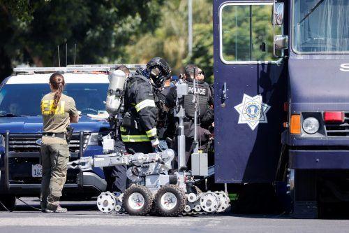 Der mutmaßliche Täter hat sich das Leben genommen. Reuters