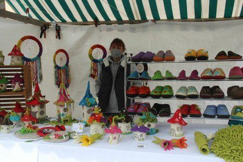 Der Sommermarkt feierte am vergangenen Donnerstag Premiere in Tschagguns. STR