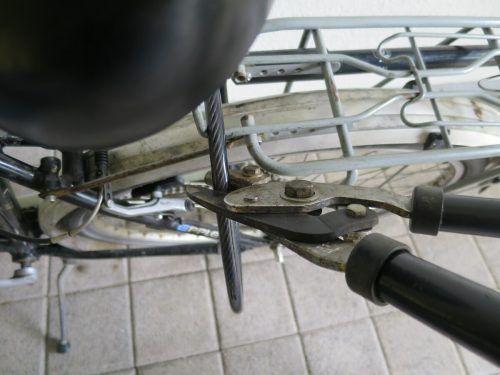 Der Täter hat ein versperrtes Fahrrad geknackt. Symbol/VN