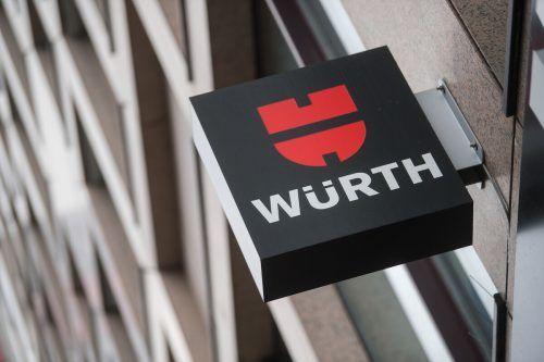 Der Werkzeughandelskonzern Würth berichtet über massiven Umsatzanstieg. DPA