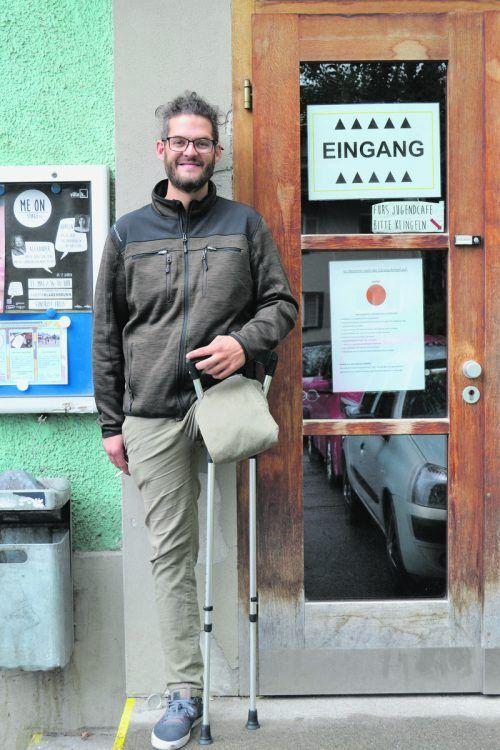 Derzeit arbeitet der Dornbirner bei der Offenen Jugendarbeit in Bludenz.