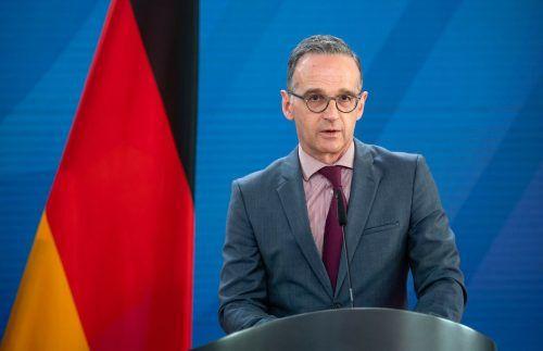 Deutscher Außenminister Maas ist für harte Maßnahmen gegen Belarus. AFP