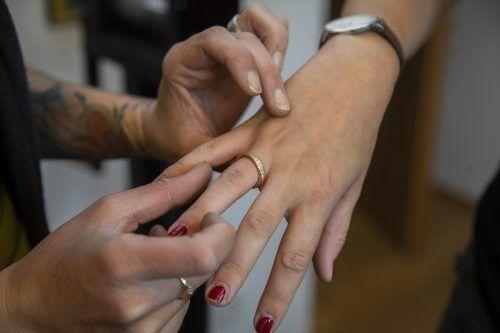 Die angefertigten Ringe sind aufgrund der individuellen Wünsche der Kunden Unikate.