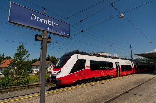 Die Bahn-Südschleife von Lustenau nach Dornbirn ist eines der großen ÖPNV-Projekte der nahen Zukunft im unteren Rheintal.VN/Stiplovsek