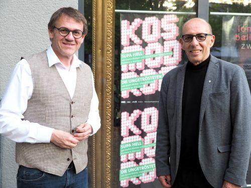 Die beiden Politiker Christoph Thoma und Michael Rauth.