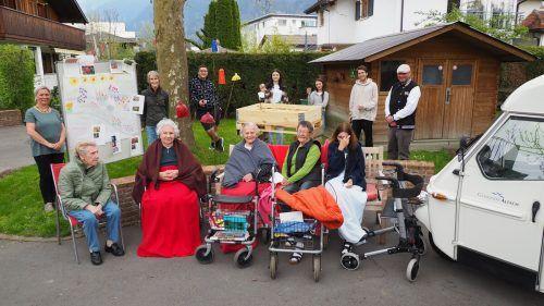 Die Bewohner des Pflegeheims freuen sich bereits auf das neue Grün.