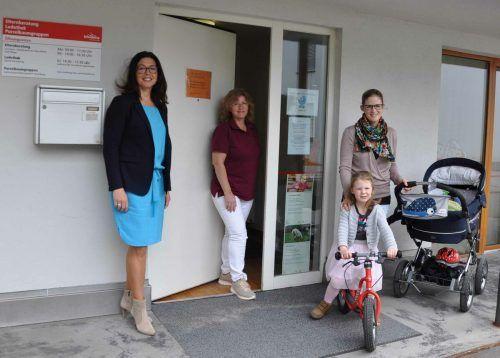 Die Elternberatungsstelle im Grete-Gulbranssonweg hat mit Hebamme Helga Hartmann Verstärkung bekommen.Stadt Bludenz