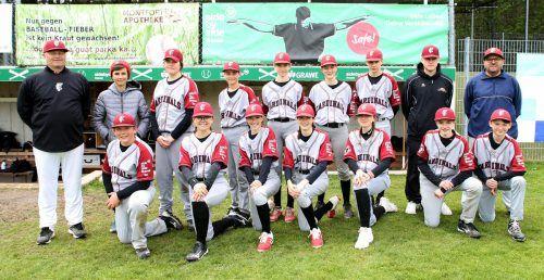 Die Feldkirch Cardinals U14 haben sich am Wochenende gegen die Hard Bulls durchgesetzt.Bischof/Bonmassar