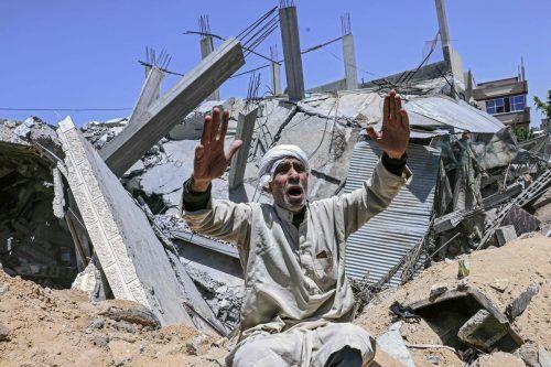 Die Gewaltspirale zwischen Israel und Palästina mit Raketen und Bomben dreht sich weiter und fordert immer mehr Todesopfer. AFP