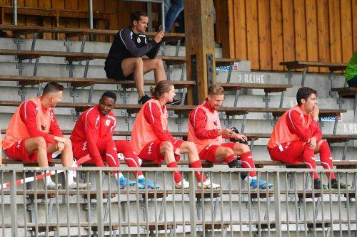 Die Haupttribüne im Stadion auf der Birkenwiese, wo bislang die Ersatzspieler Platz nehmen mussten, gehört am Sonntag wieder den Zuschauern.gepa