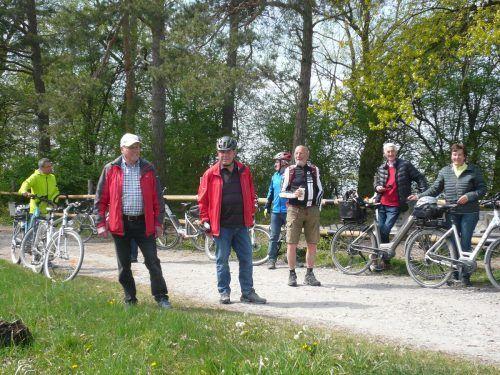Die Höchster Senioren starteten eine Radtour durch das Rheindelta.Seniorenbund Höchst