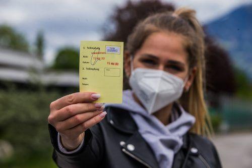 Die Impfaktion bei den Zwölf- bis 16-Jährigen soll noch vor dem Sommer in den Impfstraßen starten.VN/STeurer