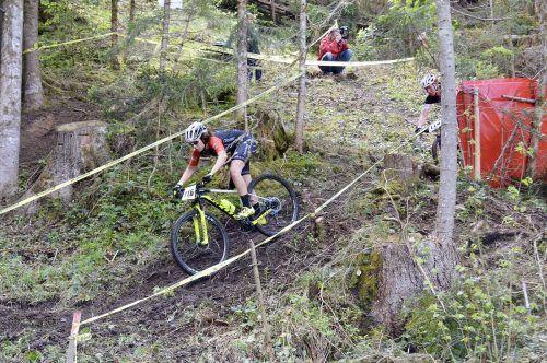 Die Mountainbikejugend stellte sich am Wochenende den anspruchsvollen Strecken.