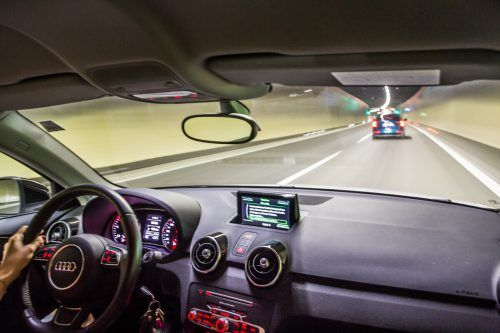 Testung der Technik führen im Pfändertunnel zu Nachtsperren.