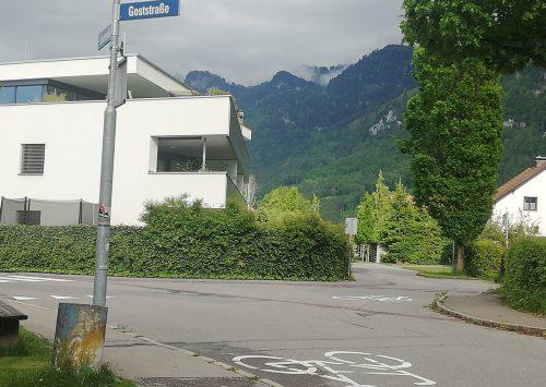 Die neue Fahrradstraße bringt im Bereich Bahnstraße/Goststraße eine neue Vorrangregelung mit sich.Mäser
