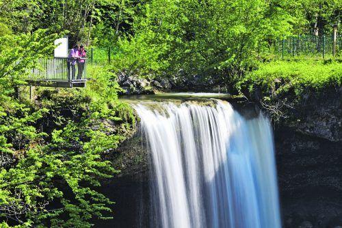 Die Scheidegger Wasserfälle sind ein Zeugnis der Erdgeschichte.David Knipping