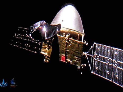 Die Sonde hat im Februar die Umlaufbahn des Mars erreicht. AP