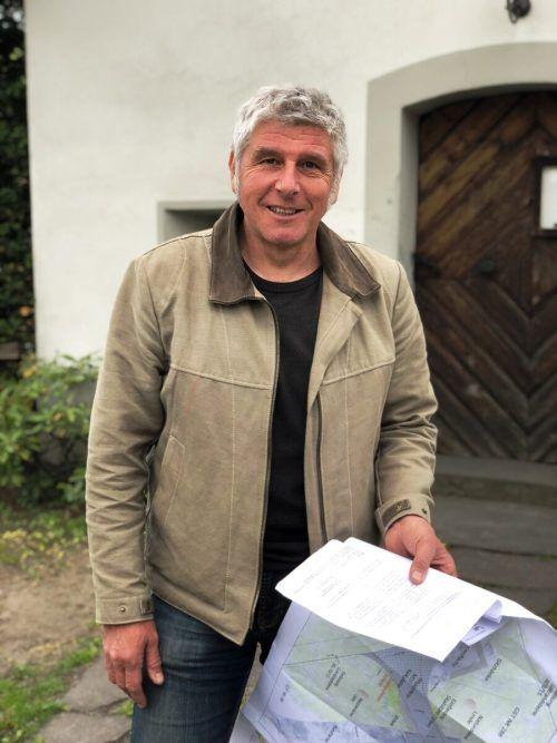 Die von Markus Burtscher geplanten Maßnahmen für den Vorplatz werden ab Ende Mai umgesetzt. Marktgemeinde Frastanz