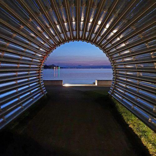 Dieses Foto gelang VN-Leserin Anna Geisel im Bregenzer Hafen.