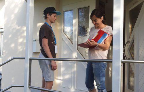 Dieses Jahr werden wieder Spenden für das LZH an der Haustür gesammelt.lzh