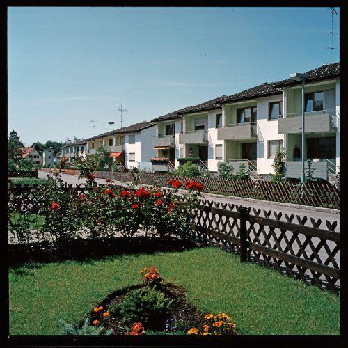 Dornbirn, Rohrbachsiedlung, 1974